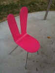Bunny Chair Serpentine Gallery
