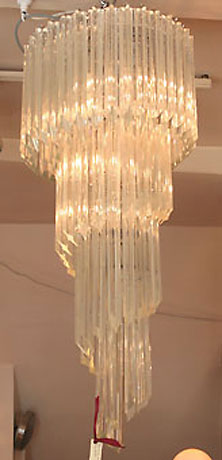 valerie wade waterfall crystal chandelier